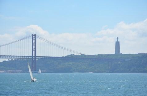 Vue sur le Tage depuis Belem, Lisbonne
