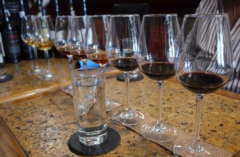 8 verres pour dégustation de Porto