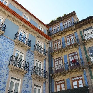 Façades bleues de Porto