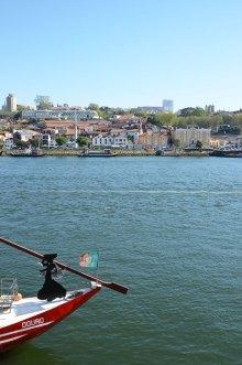 Vue sur le Douro depuis Porto