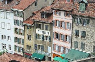 Façades de Lausanne, Suisse
