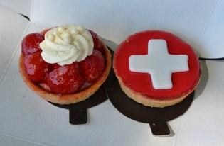 Gâteaux typiques de Suisses
