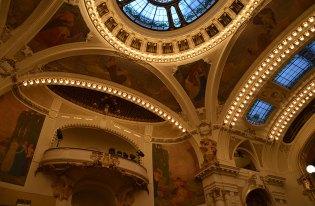 Intérieur de la maison municipale, salle de concert de Prague