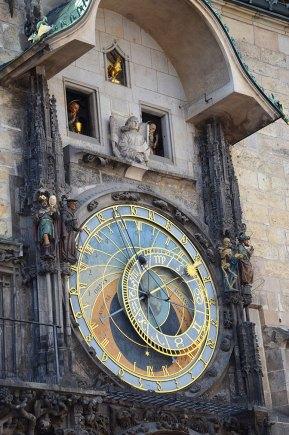 La très célèbre horloge astronomique de Prague