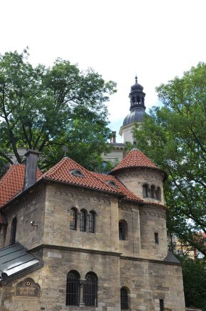 Façade du musée juif de Prague