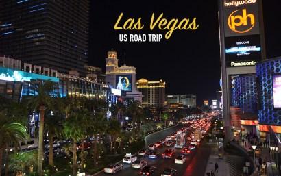 Vue de Las Vegas de nuit, US road trip