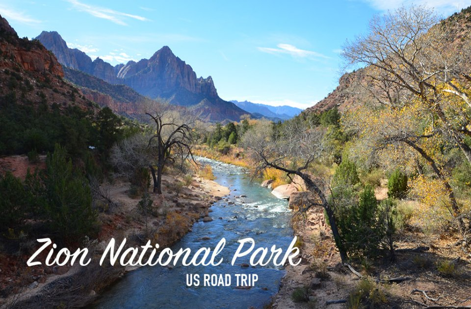 Paysage du Zion National Park, USA