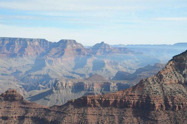Vue du Grand Canyon depuis Yaki Point