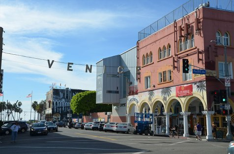 Rue principale de Venice Beach, Los Angeles