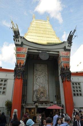 Façade de l'Hollywood Theater, Los Angeles