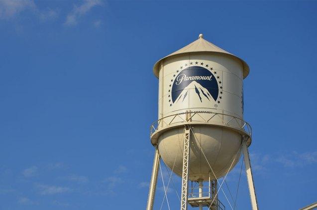Chateau d'eau des Paramount Studios, Los Angeles