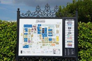 Plan des Paramount Studios, Los Angeles