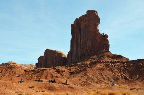 Balade à cheval à Monument Valley, USA