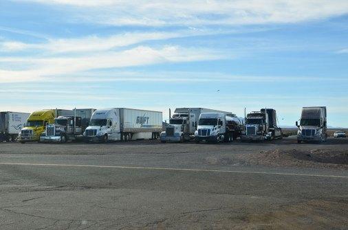 Camions sur la Route 66