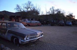 Garage de voitures vintage, Route 66