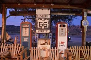 Panneau Historic Route 66