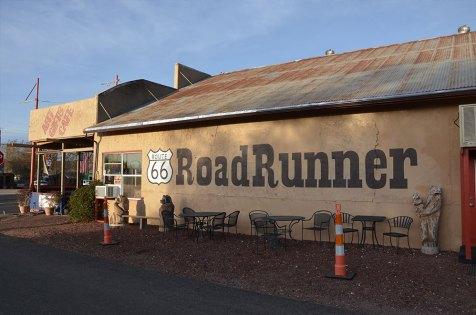 Café en board de Route 66, Seligman