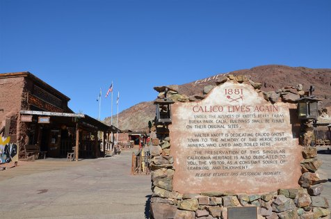 Photo de Calico Ghost Town, Route 66