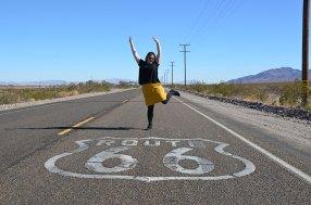 Séance photo sur la Route 66