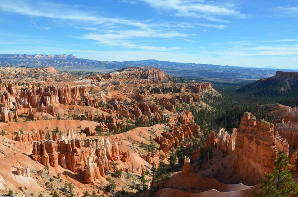 Vue sur Bryce Canyon depuis Sunset Point, USA