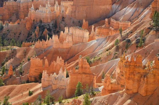 Vue sur Bryce Canyon, USA