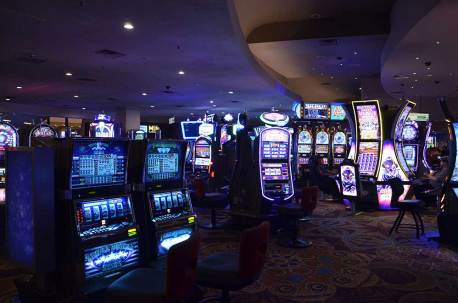 Machines à sous des casinos de Las Vegas