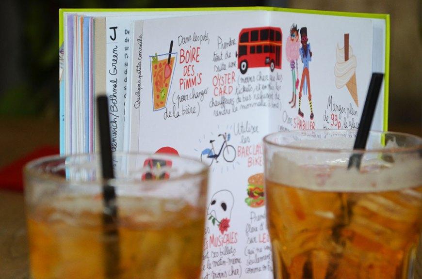 Deux verres de Pims, Londres