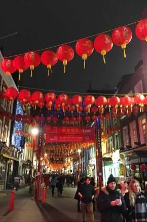 Rue du quartier asiatique de Londres