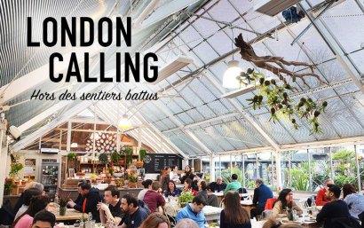 Salle du salon de thé Clifton Nurseries, dans une serre, Londres