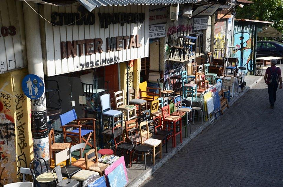 Quartier Pisci, Athènes, Grèce