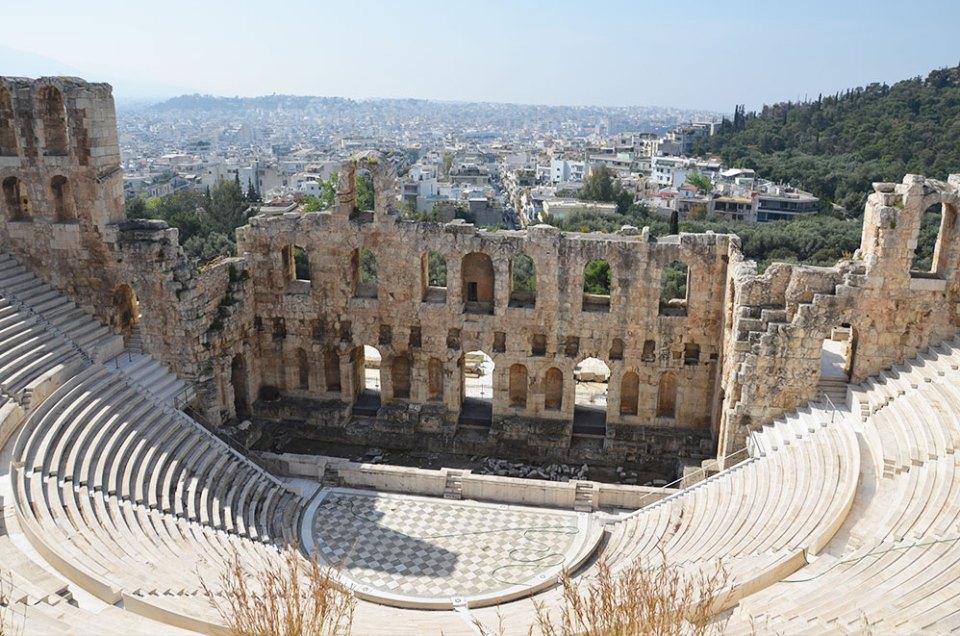 Odéon d'Hérode Atticus, Athènes, Grèce