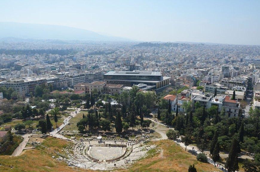 Vue sur Athènes, Grèce