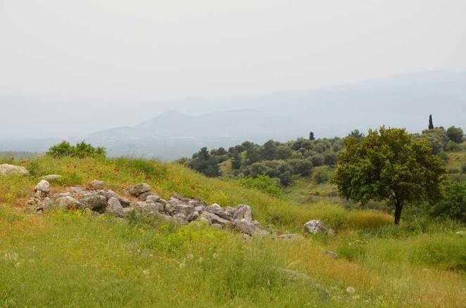 Site antique de Mycènes, Grèce