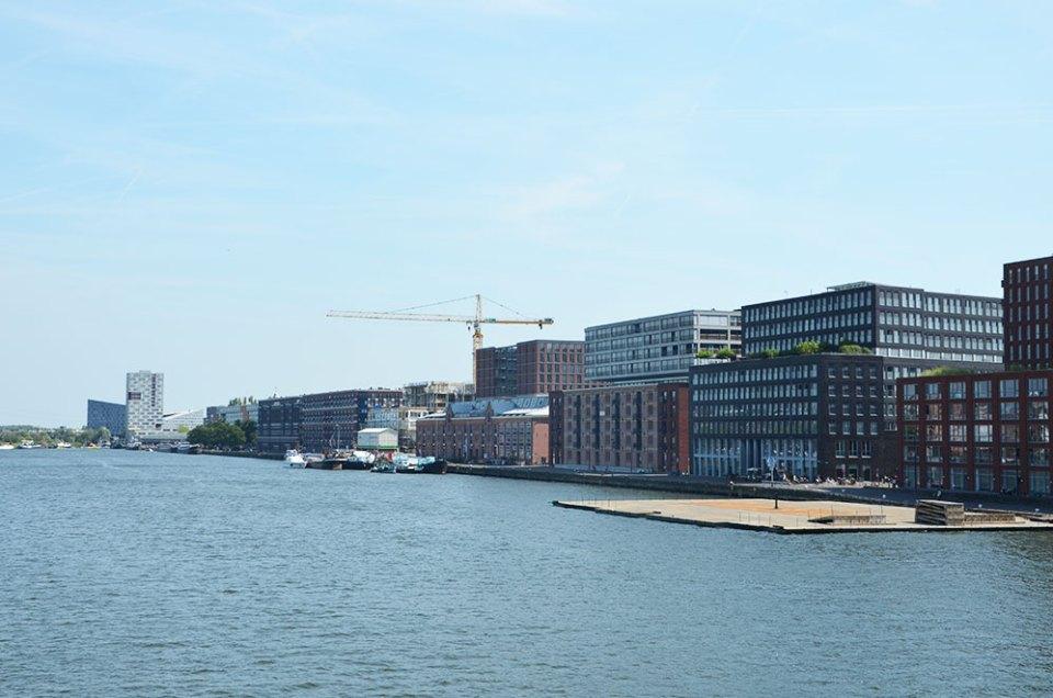 Amsterdam, le quartier des docks