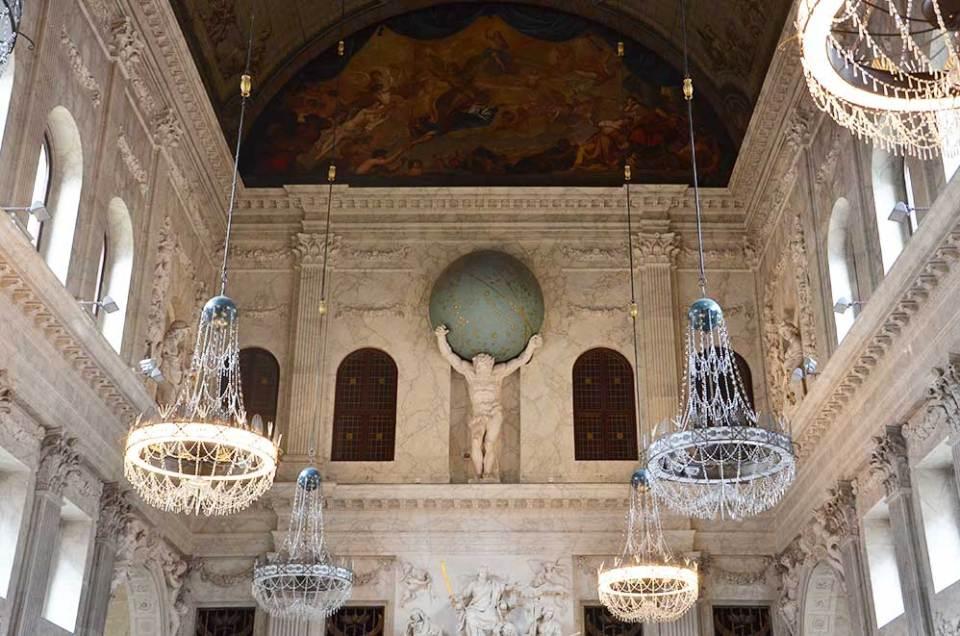 Intérieur du Palais Royal d'Amsterdam