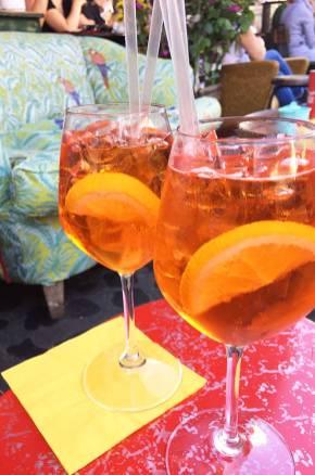 Apérol Spritz à Rome, Italie
