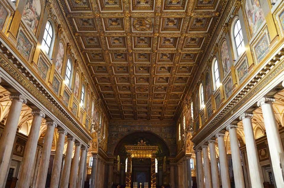 Basilique Sainte Marie Majeure, Rome, Italie