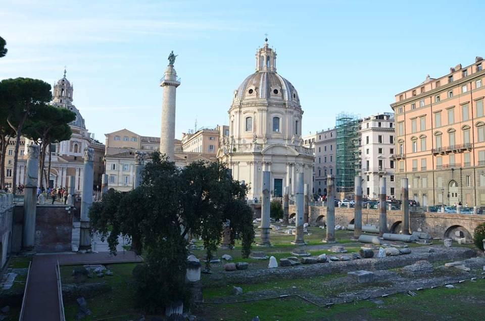 Via Dei Fori Imperiali, Rome, Italie
