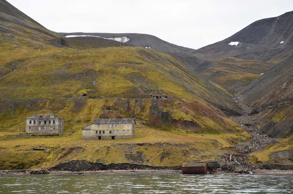 Village russe abandonné, Svalbard