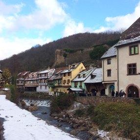 Jolies maisons à Colombages à Kaysberg, Alsace