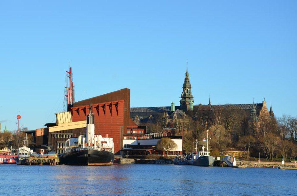 Vue sur le musée Vasa, Stockholm, Suède