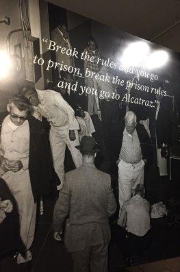 Doctrine de la Prison d'Alcatraz, San Francisco, USA