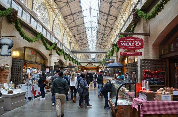 Ferry Building Market place, San Francisco, USA