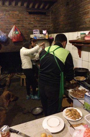 Cuisine à l'occasion du Têt, Sapa, Vietnam