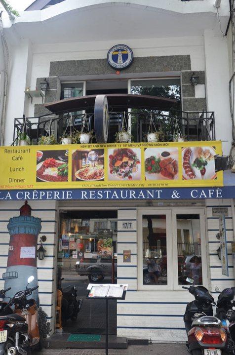 Crêperie, Saigon, Ho Chi Minh Ville, Vietnam