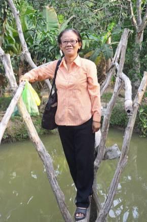 Anh Dao, notre guide à Can Tho, Delta du Mékong, Vietnam