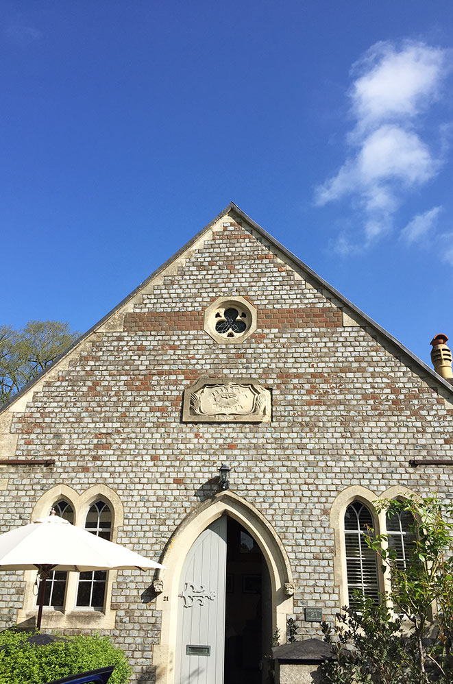 Logement insolite, Eglise, Oxford, campagne anglaise, Royaume-Uni