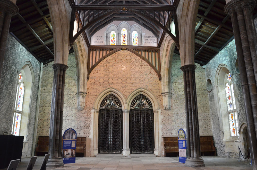 City Hall de Winchester, campagne anglaise, Royaume-Uni