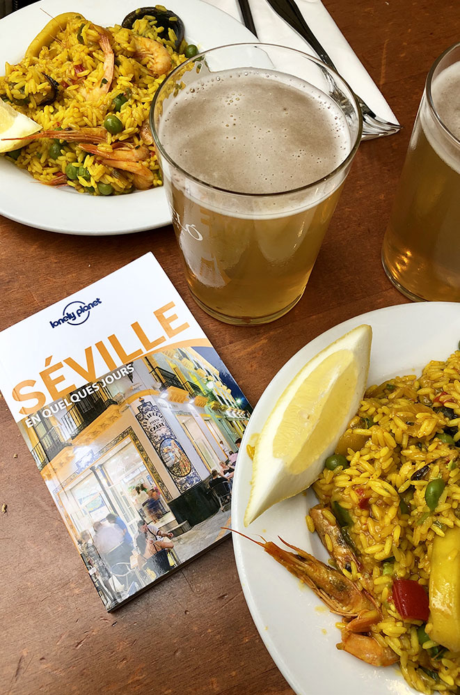 Paella, Séville, Andalousie, Espagne