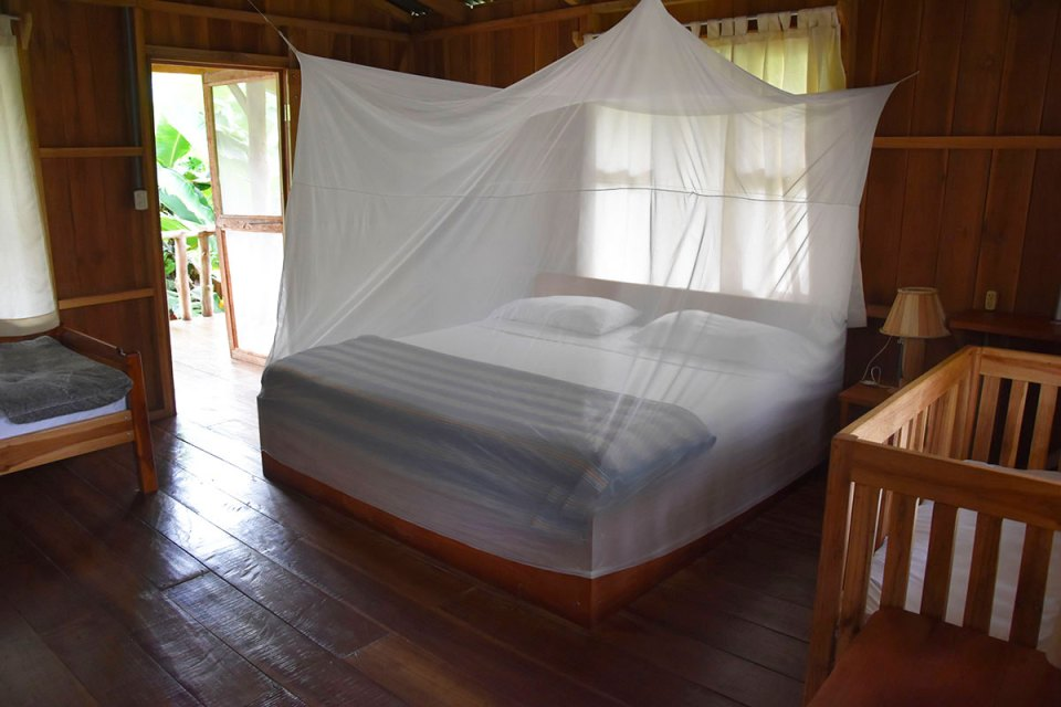 Intérieur de notre lodge à la Finca La Amistad, Costa Rica